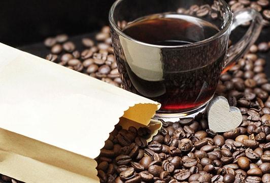 etiquette sachet cafe torrefie