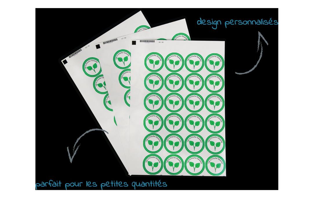 etiquettes planche A4