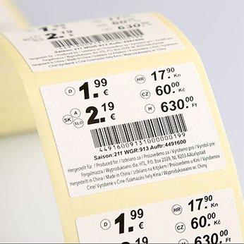 étiquette sur mesure