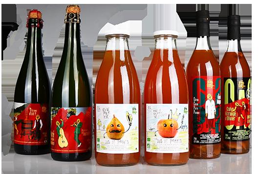 etiquette jus de fruits