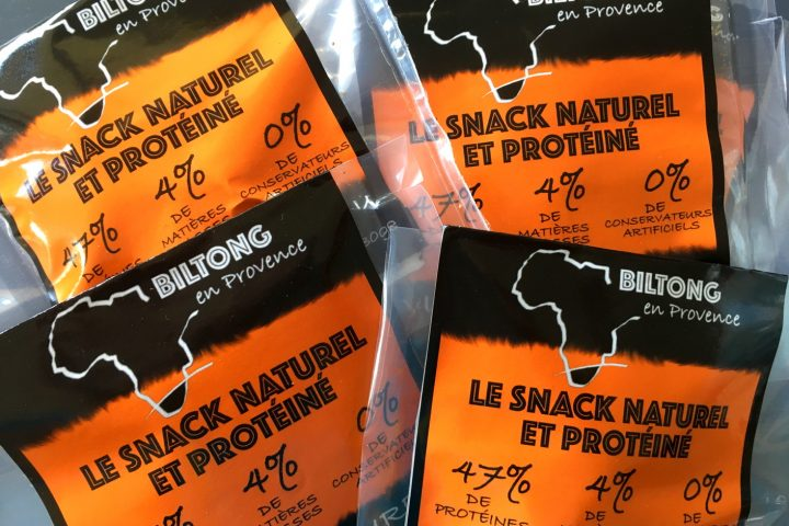 étiquette sachet packaging