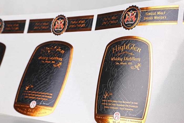 etiquettes whisky