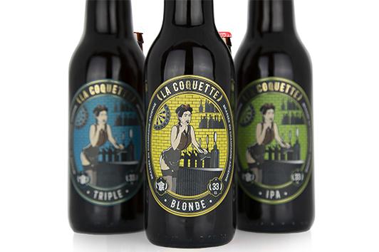 étiquettes bières