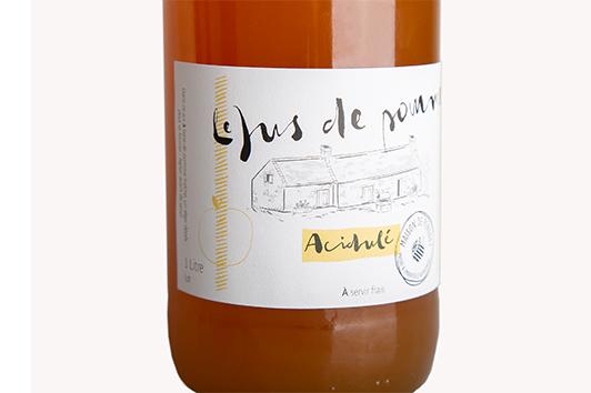 étiquettes bouteilles boissons