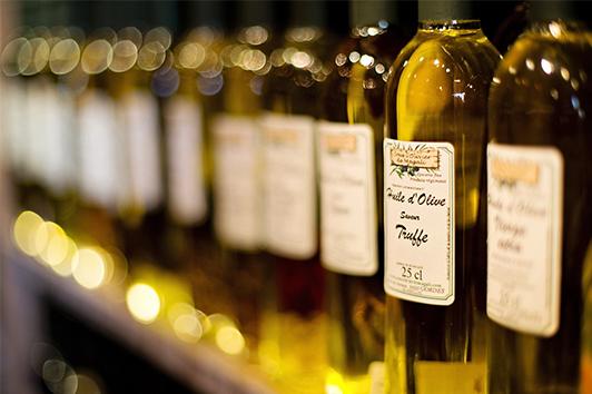 étiquettes huile olive
